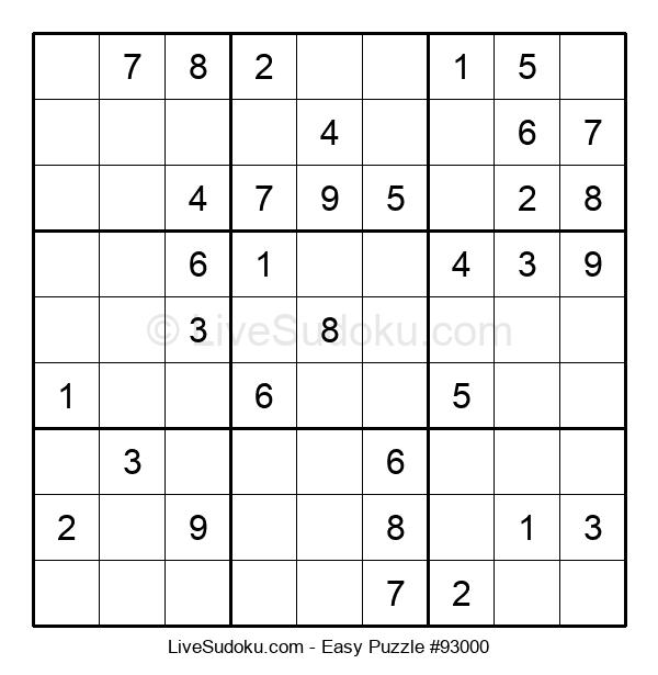 Beginners Puzzle #93000