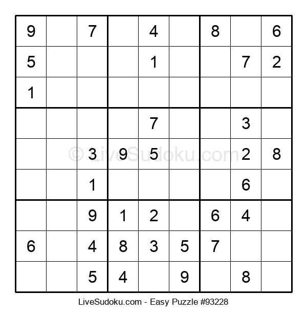 Beginners Puzzle #93228