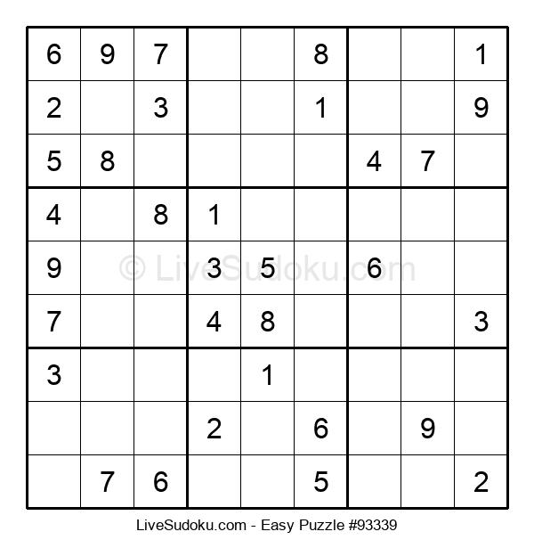 Beginners Puzzle #93339
