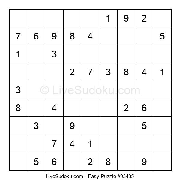 Beginners Puzzle #93435