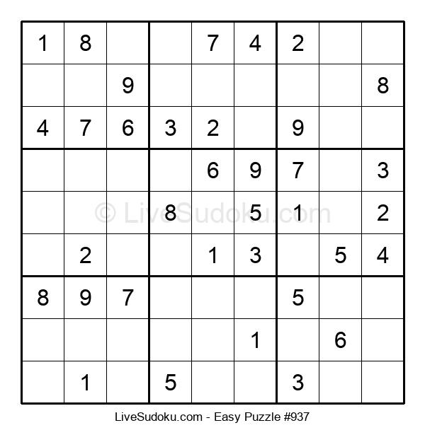 Beginners Puzzle #937