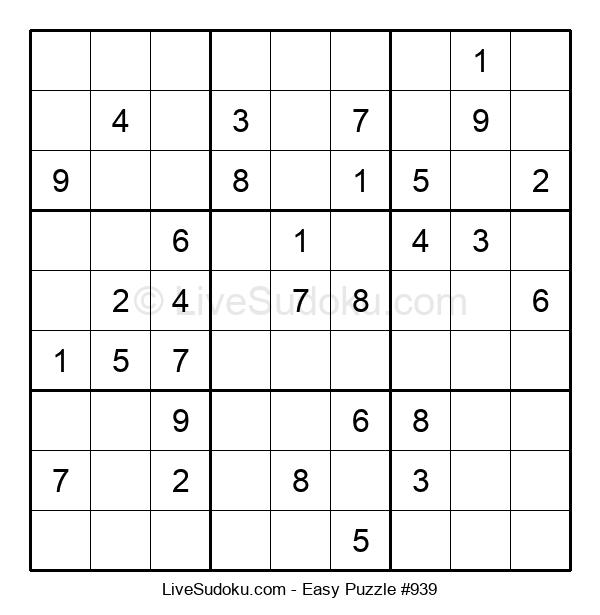 Beginners Puzzle #939