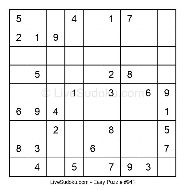 Beginners Puzzle #941