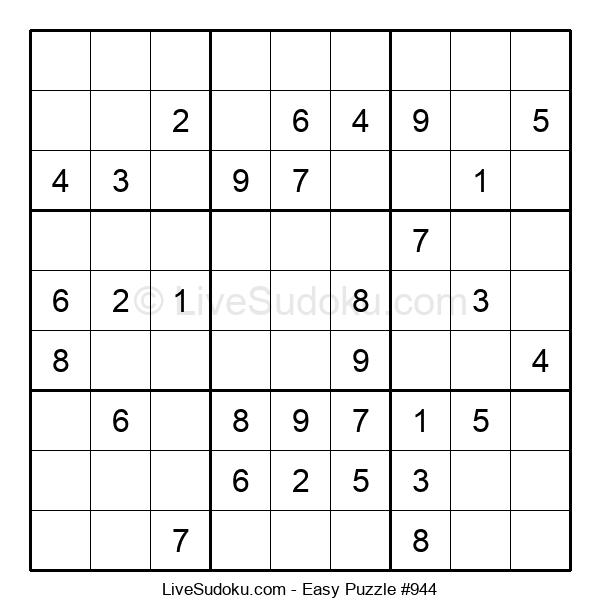 Beginners Puzzle #944