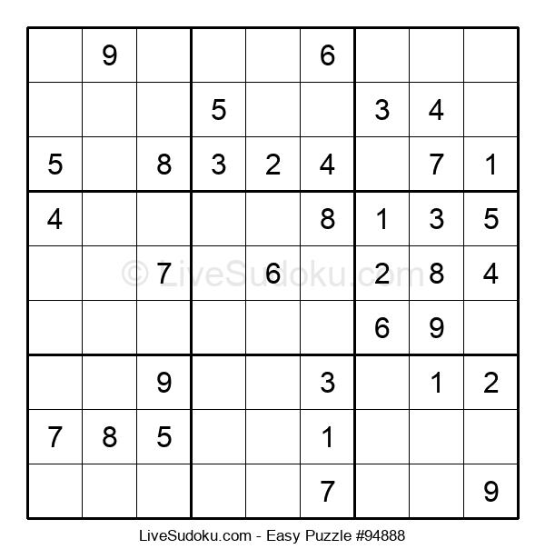 Beginners Puzzle #94888