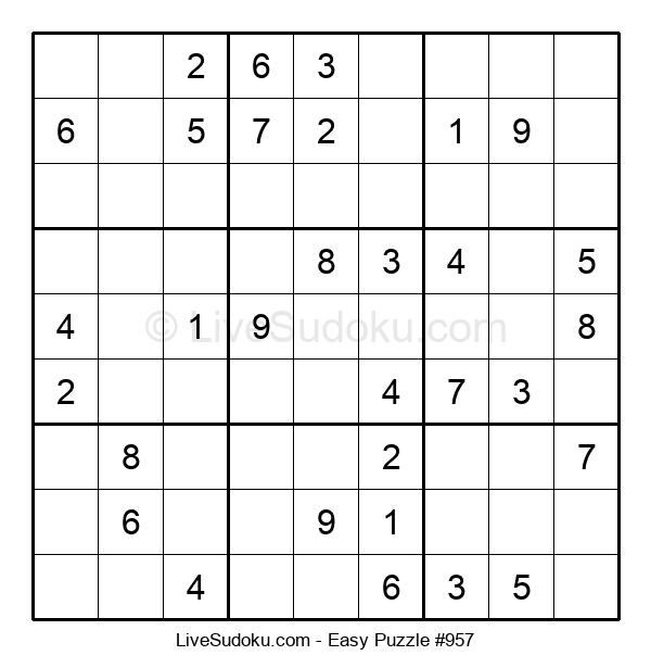Beginners Puzzle #957