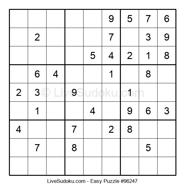 Beginners Puzzle #96247