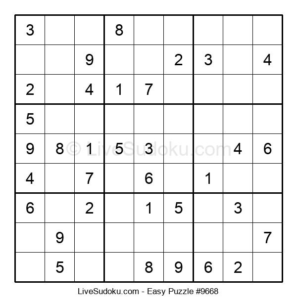 Beginners Puzzle #9668
