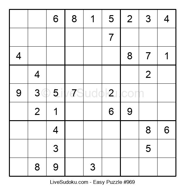 Beginners Puzzle #969