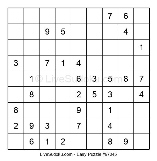 Beginners Puzzle #97045