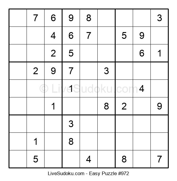 Beginners Puzzle #972