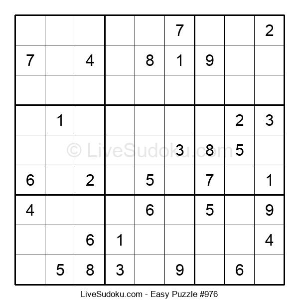 Beginners Puzzle #976