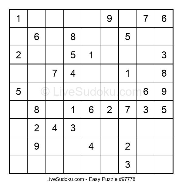 Beginners Puzzle #97778