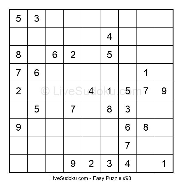 Beginners Puzzle #98