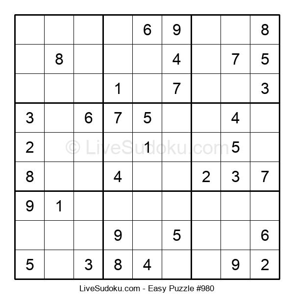 Beginners Puzzle #980