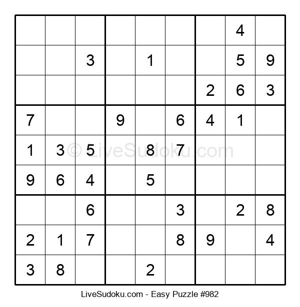 Beginners Puzzle #982