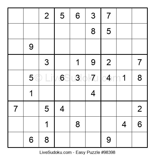 Beginners Puzzle #98398