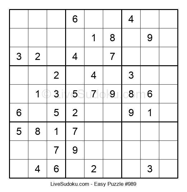 Beginners Puzzle #989
