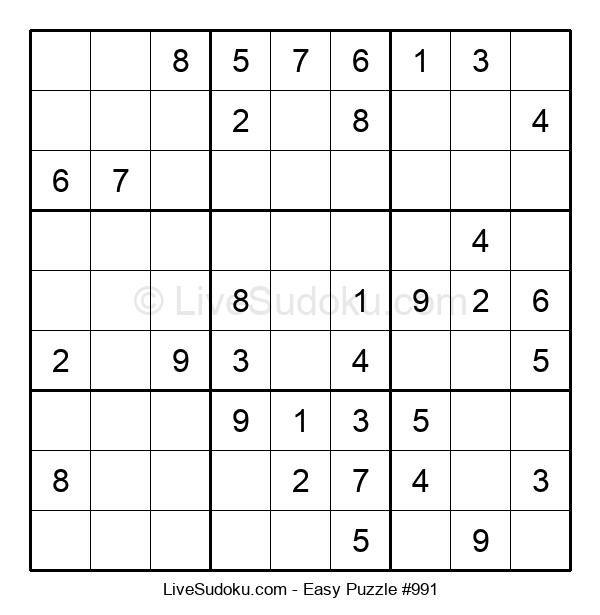 Beginners Puzzle #991