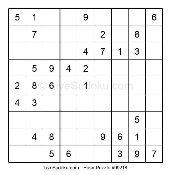 Beginners Puzzle #99218