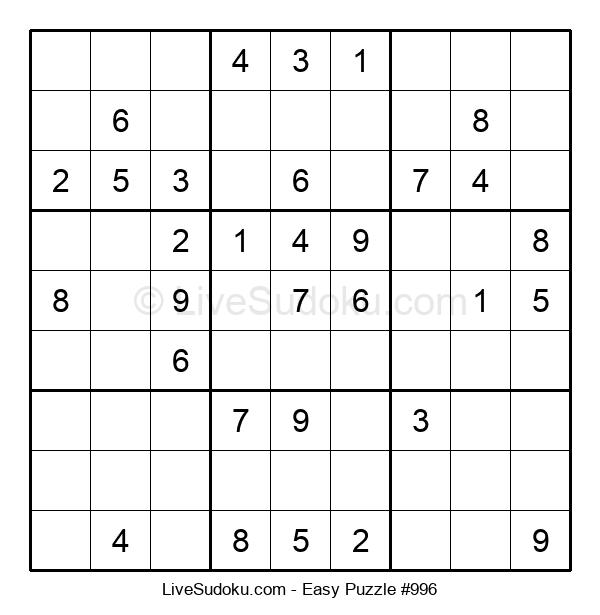 Beginners Puzzle #996