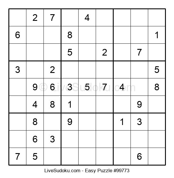 Beginners Puzzle #99773