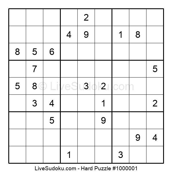 Hard Puzzle #1000001