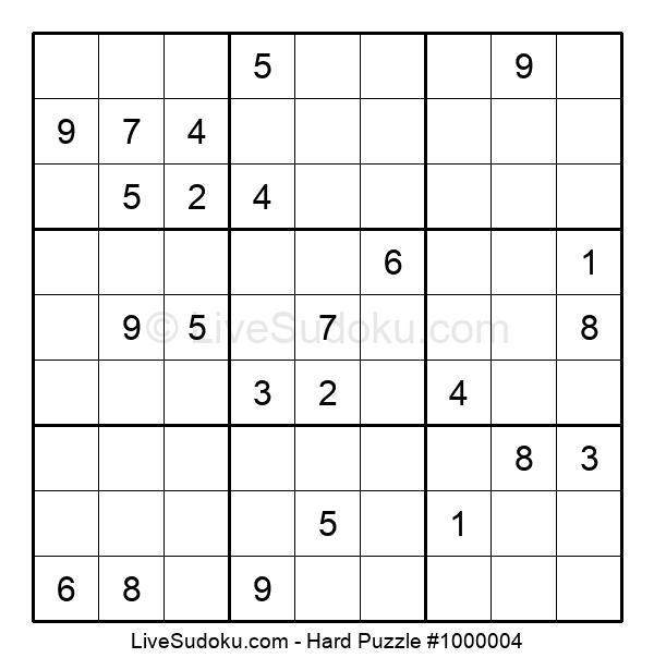 Hard Puzzle #1000004