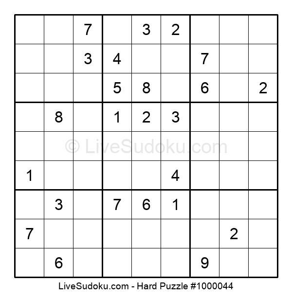 Hard Puzzle #1000044