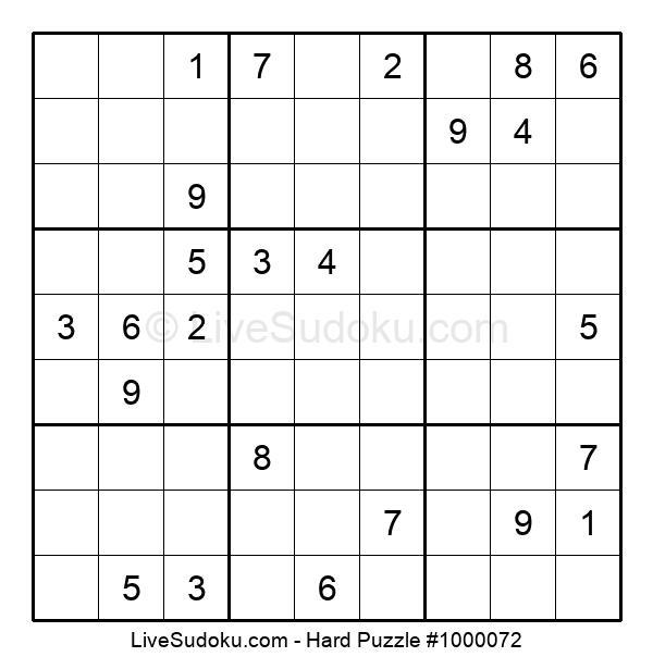 Hard Puzzle #1000072
