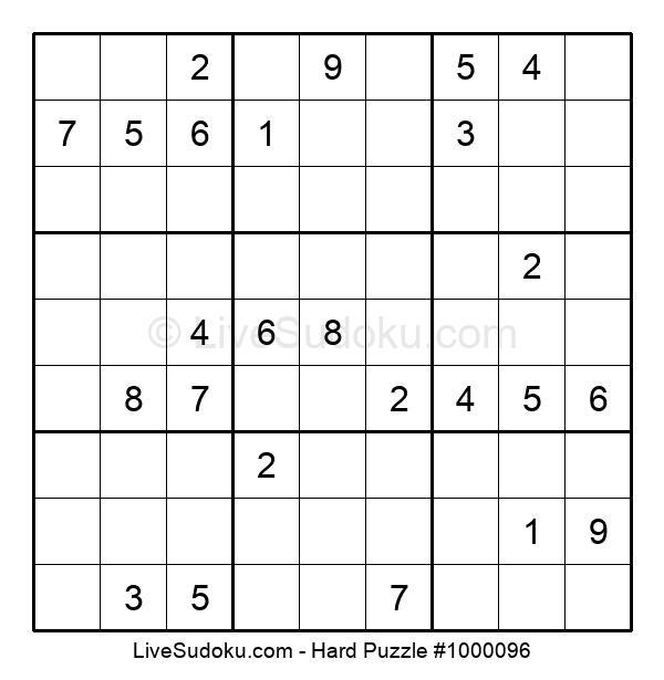 Hard Puzzle #1000096