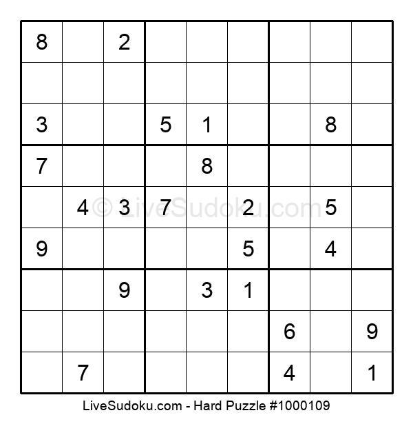 Hard Puzzle #1000109