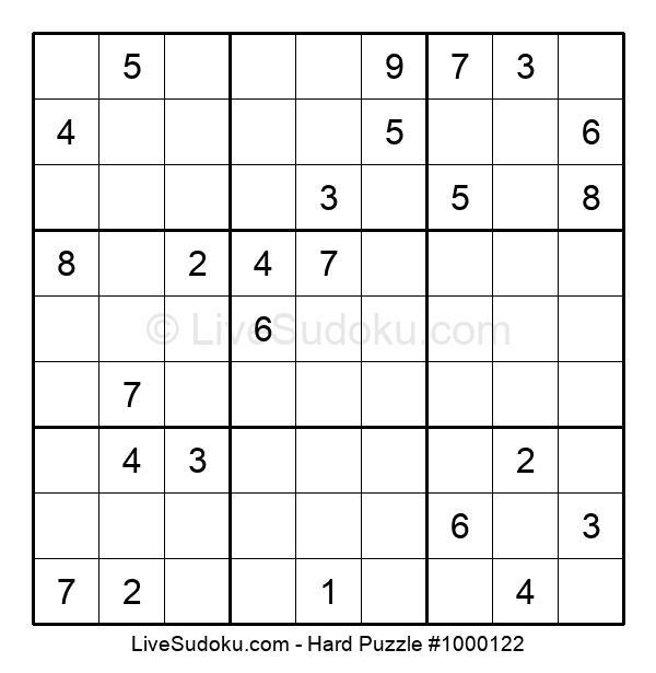 Hard Puzzle #1000122