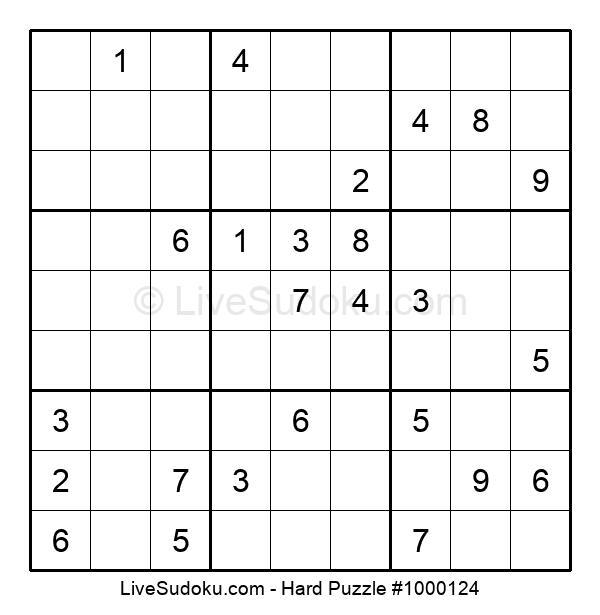 Hard Puzzle #1000124