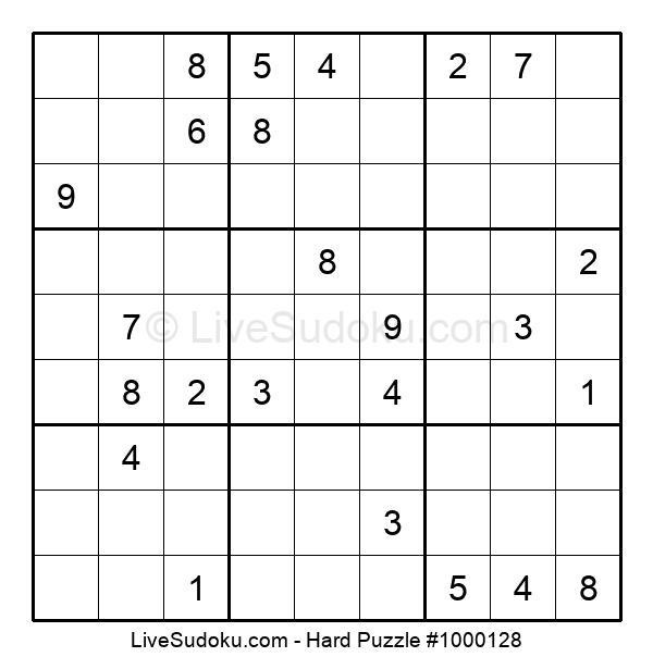 Hard Puzzle #1000128