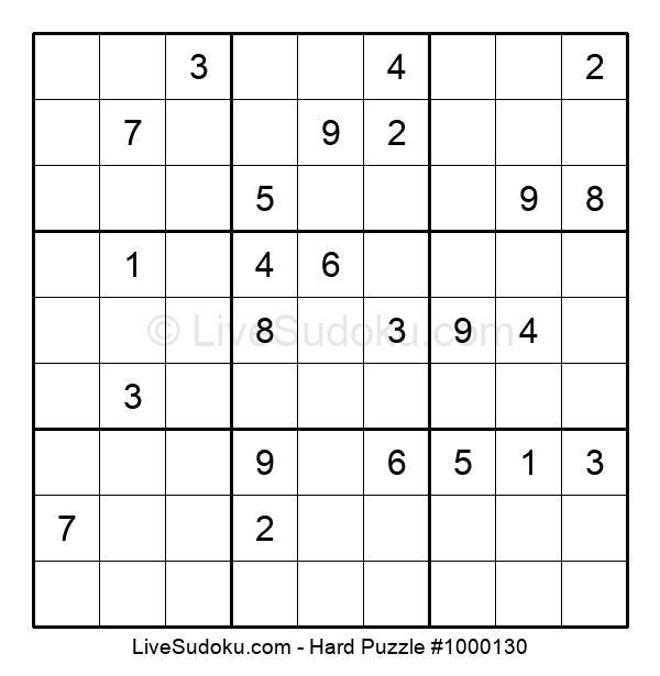 Hard Puzzle #1000130