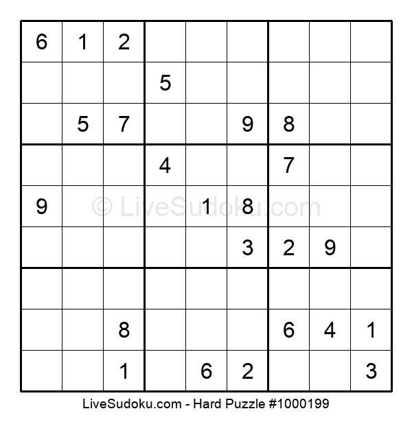 Hard Puzzle #1000199