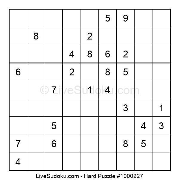 Hard Puzzle #1000227