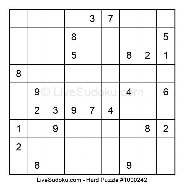 Hard Puzzle #1000242
