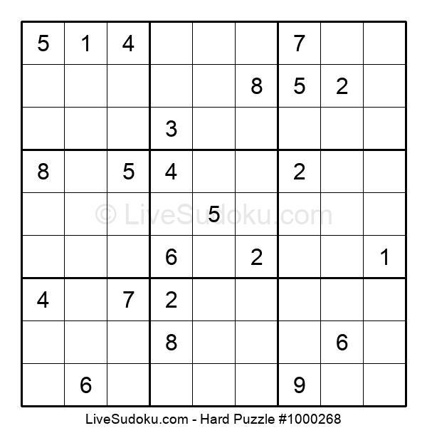 Hard Puzzle #1000268