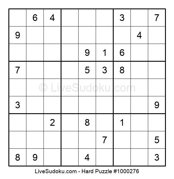 Hard Puzzle #1000276