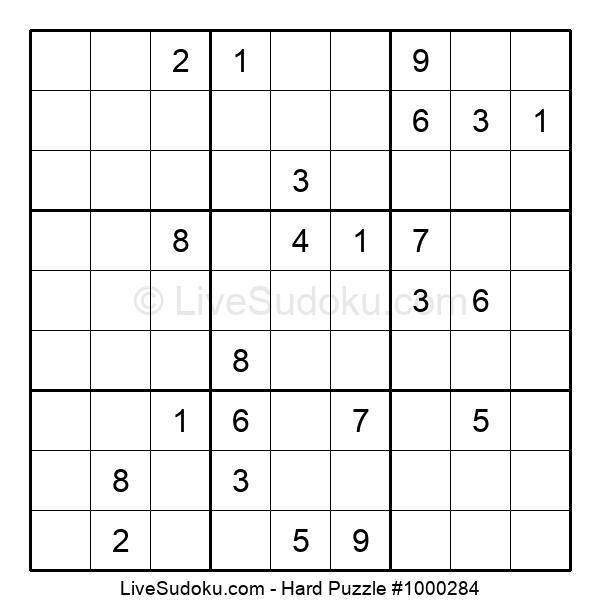 Hard Puzzle #1000284