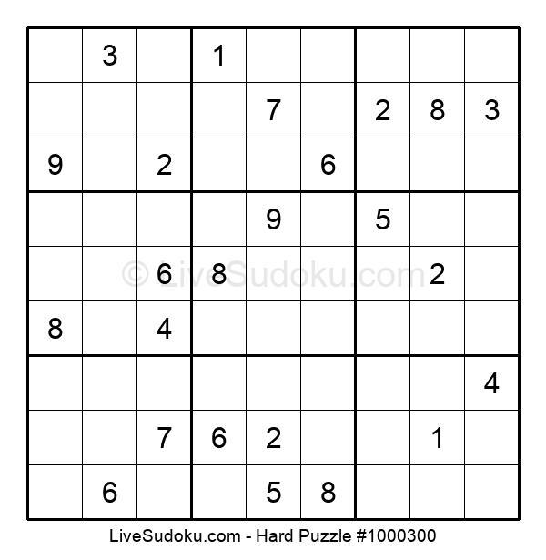 Hard Puzzle #1000300