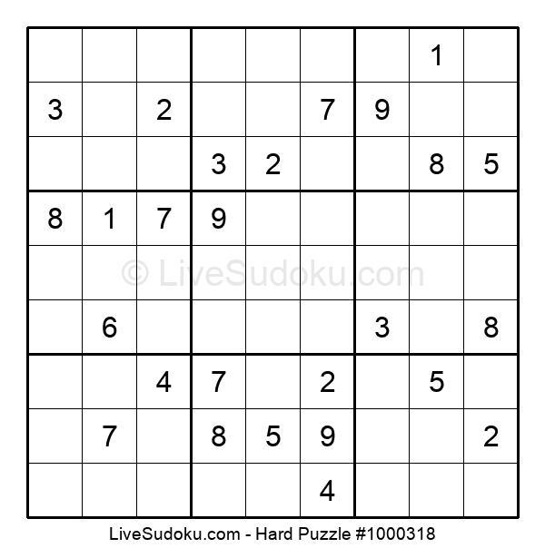 Hard Puzzle #1000318
