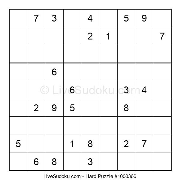 Hard Puzzle #1000366