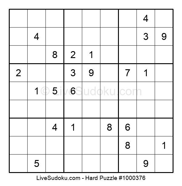 Hard Puzzle #1000376