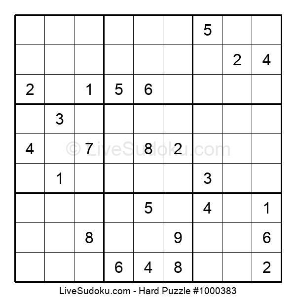 Hard Puzzle #1000383