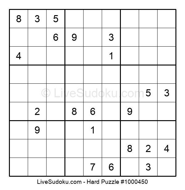 Hard Puzzle #1000450