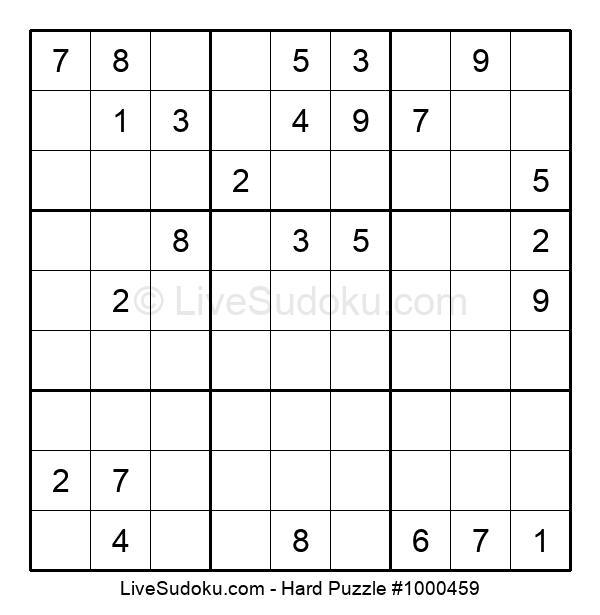 Hard Puzzle #1000459