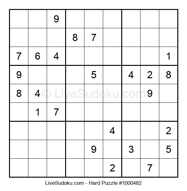 Hard Puzzle #1000482